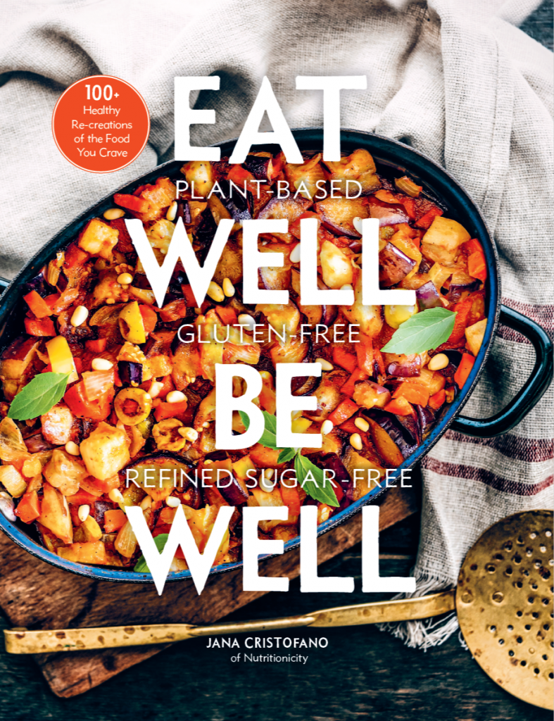 Eat Well Be Well front cover